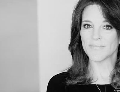 MARIANNE WILLIAMSON – How To Transform Our Pain From Tears To Triumph
